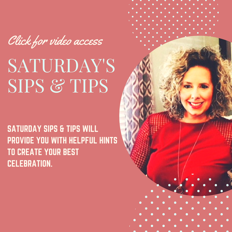 3/3 Saturday Sips & Tips: Free Party Prep Checklist