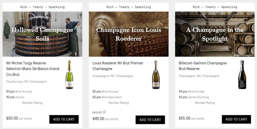 Wine Access Champagne