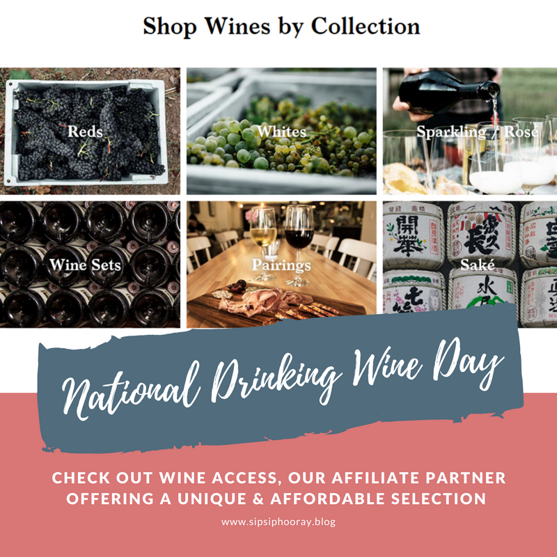 Sun 2/18: National Drinking WineDay